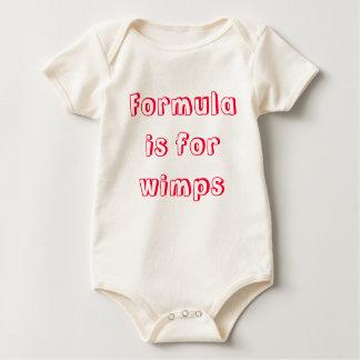 Formeln är för wimps body för baby