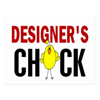 Formgivare chick 1 vykort