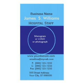 Formgivare för unik affär för två deppigheter set av standard visitkort