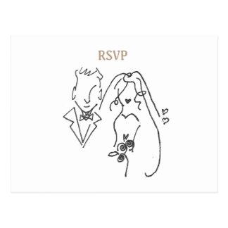 Formgivare kopplar ihop OSAN som gifta sig Vykort