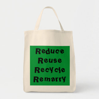 Förminska återanvänder återvinna Remarry toto Tygkasse