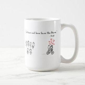 Förmögenhet och kärlek favoriserar Daven Kaffemugg