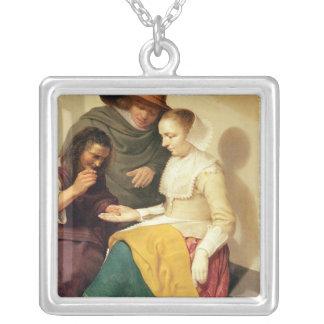 Förmögenhetkassören, 1631 silverpläterat halsband