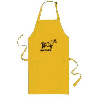 Formulera hästen -- Fläckigt Långt Förkläde