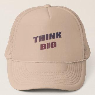Formulerar stort Motivational för tänka Truckerkeps