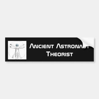 Forntida astronautTheoristbildekal Bildekal