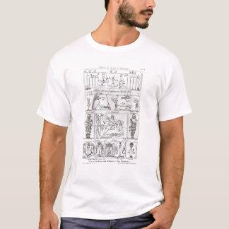 Forntida egyptier och perser tshirts