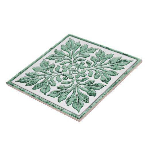 Forntida engelska belägger med tegel coolt urblekt keramiska plattor