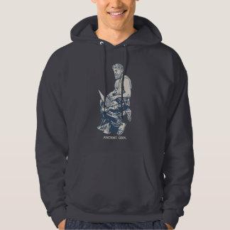 Forntida Geek Sweatshirt Med Luva