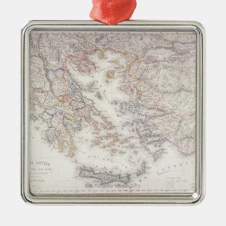 Forntida Grekland Julgransprydnad Metall