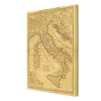Forntida italien canvastryck