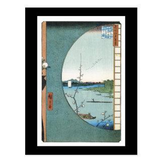 Forntida japansk konstvykort vykort