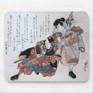 Forntida kinesisk konst för vintage mus mattor