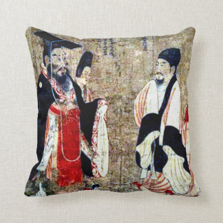 Forntida kinesisk konstdekorativ kudde