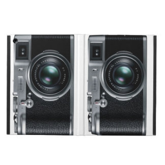 forntida/klassiker kamera iPad air fodral