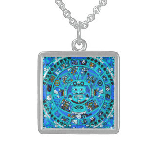 Forntida Mayan Aztec halsband