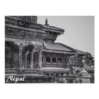 Forntida Nepal Vykort