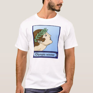 Forntida Olypic vinnare Tshirts
