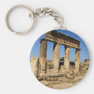 Forntida stad av Hierapolis - en pagan kult centre Rund Nyckelring