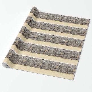 Forntida teknologi för Saqsaywaman borttappad Presentpapper