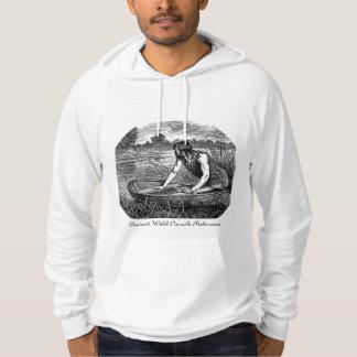 Forntida walesisk Coracle Sweatshirt Med Luva