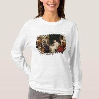 Försäljare av kärlek t-shirts