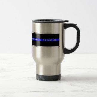 """Förse med polis """"travel mug för resemugg"""