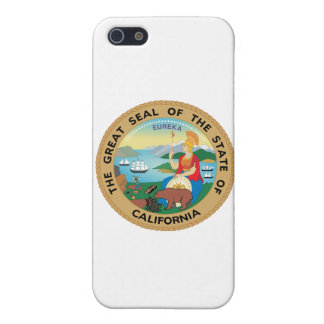 Försegla av Kalifornien iPhone 5 Fodral