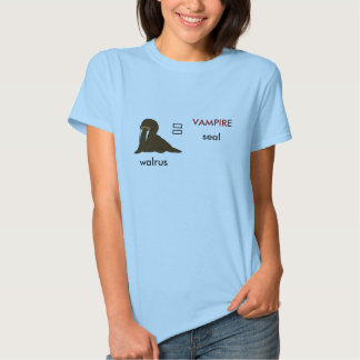 Försegla, obetitlat valrossen, VAMPYR T Shirts