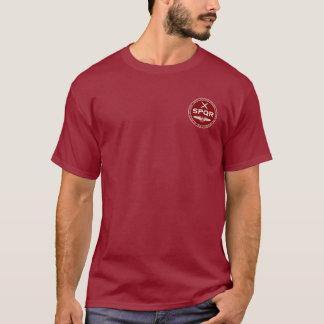 Förseglar den rödbruna romerska legionen för SPQR T-shirts