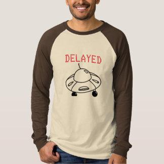 Försenat flyg vid UFO T-shirts