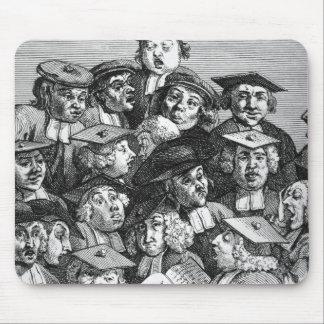 Forskare på en föreläsa, 20th Januari 1736-37 Musmattor