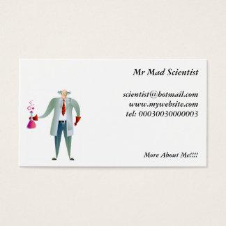 Forskare Visitkort