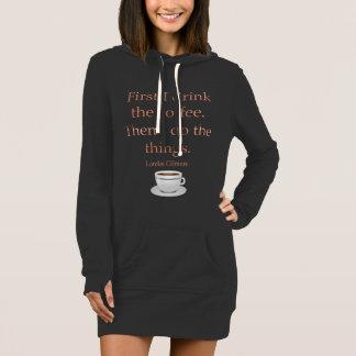 Först dricker jag kaffet tshirts