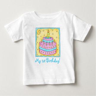 Första (1st) skjorta för utslagsplats för tee shirt