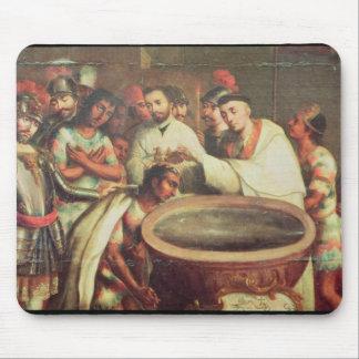 Första dop av indierna vid dominikanerna musmatta