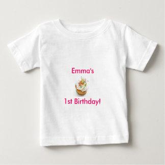 Första födelsedag för flicka tee shirt