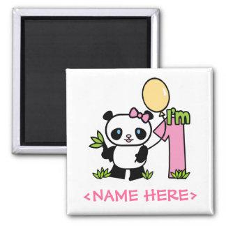 Första födelsedag för Pandaflicka