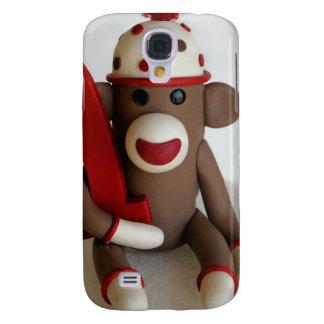 Första födelsedag för sock monkey galaxy s4 fodral