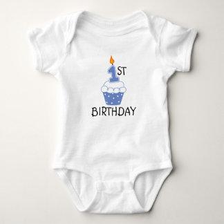 Första födelsedagbabyBodysuit T-shirt