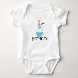 Första födelsedagbabyBodysuit Tee Shirt
