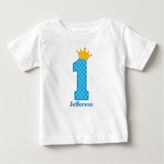 Första födelsedagPrince Tshirt Personifiera Tee Shirt