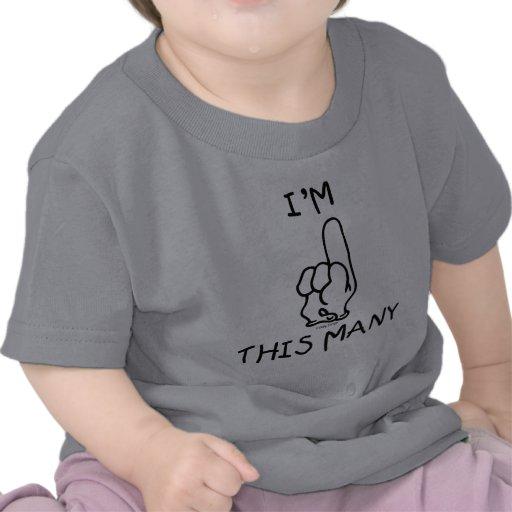 Första födelsedagT-tröja
