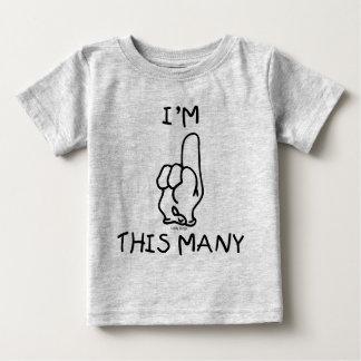 Första födelsedagT-tröja T Shirts