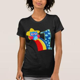 Första födelsedaguggla tee shirts