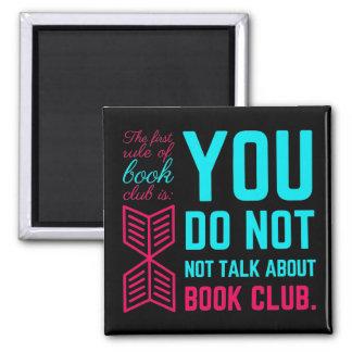 Första härskar av den roliga bokklubben formulerar magnet