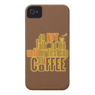 FÖRSTA iPhonefodral-kompis för KAFFE iPhone 4 Case-Mate Case