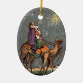 Första julvintageprydnad julgransdekoration