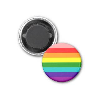 Första magnet för regnbågegay prideflagga