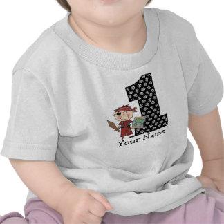 Första T-tröja för födelsedagpojkepirat